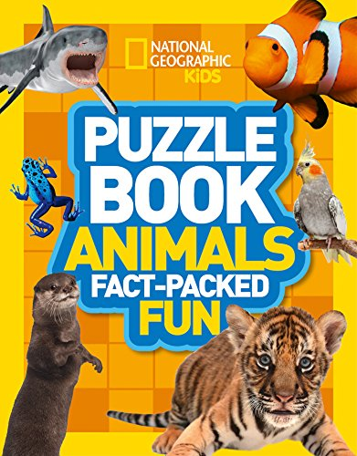 9780008267704: Puzzle Book Animals: Brain-tickling quizzes, sudokus, crosswords and wordsearches (National Geographic Kids Puzzle Books)