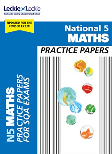 9780008281632: National 5 Maths Practice Papers: Revise for SQA Exams (Leckie N5 Revision)