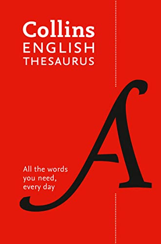 9780008309459: Paperback English Thesaurus Essential: All the words you need, every day (Collins Essential Dictionaries)
