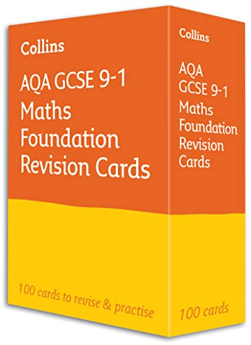 9780008359768: AQA GCSE 9-1 Maths Foundation Revision Cards: For the 2020 Autumn & 2021 Summer Exams (Collins GCSE Grade 9-1 Revision)