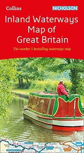 9780008363802: Collins Nicholson Inland Waterways Map of Great Britain: The number 1 bestselling waterways map (Collins Nicholson Waterways Guides)