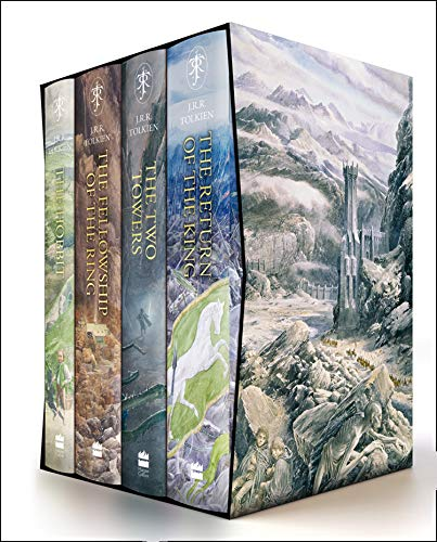 9780008376109: The Hobbit & The Lord of the Rings Boxed Set: Illustrated edition