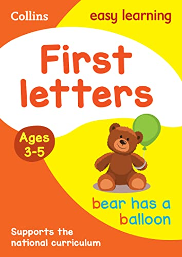 9780008387884: First Letters Ages 3-5: Prepare for Preschool with easy home learning (Collins Easy Learning Preschool)