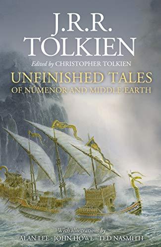 Beispielbild für Unfinished Tales of Numenor and Middle-Earth zum Verkauf von The Book Bin
