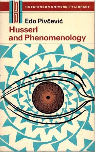 9780009102981: Husserl and Phenomenology