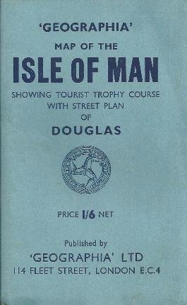 9780009232602: Geographia map of the Isle of Man,: Showing Tourist Trophy course