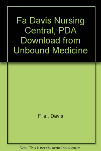 9780010043020: Fa Davis Nursing Central, PDA Download from Unbound Medicine