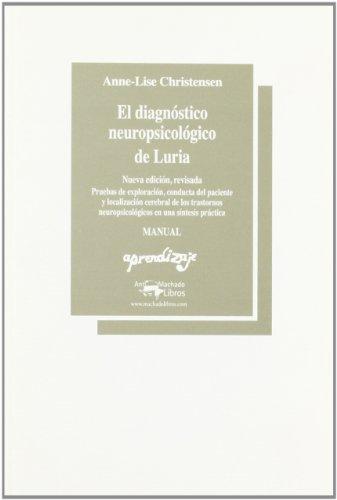 9780010101010: Diagnostico Neu. Luria-Material