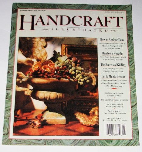 9780010720525: Handcraft (Illustrated, Number one /Charter Issue)