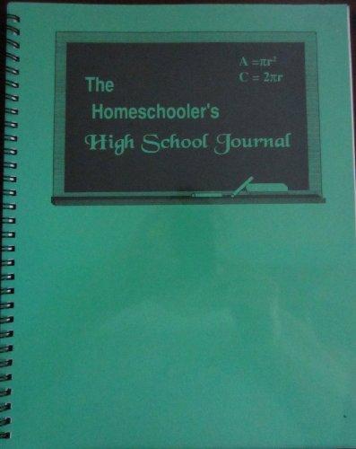 9780012047453: Homeschooler's High School Journal