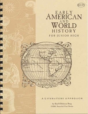 9780012100219: Early American and World History for Junior High A Literature Approach (History Through Literature)
