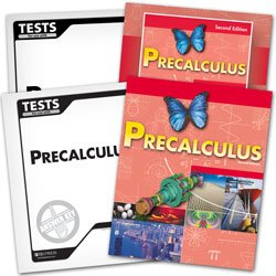 9780012106372: BJU Precalculus Subject Kit--Worktext, Teacher with CD, Tests, and Test Keys