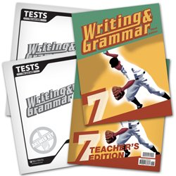 9780012106921: Writing and Grammar 7 Subject Kit--Student, Teacher, Test, Key