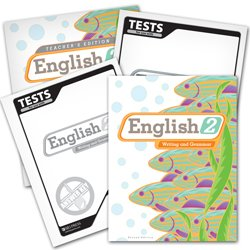 9780012107904: BJU Press English 2 Subject KIT