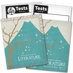 9780012108901: BJU Explorations in Literature Subject Kit--Student, Teacher, Test, Key