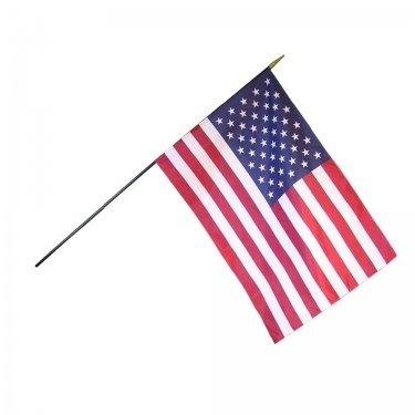 9780012132043: U S Flag Classroom Plain 12x18