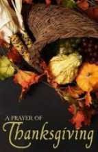 9780012394588: Tract-:T-Prayer For Thanksgiving (25 Pack)