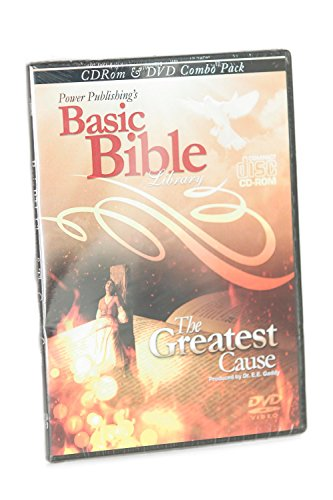 9780012476727: Basic Bible Library Software CD-ROM and Greatest Cause Movie DVD Combo Pack by Power Publishing Corporation