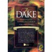 9780012492598: KJV LPR DAKE STUDY BONDED (Study bible)