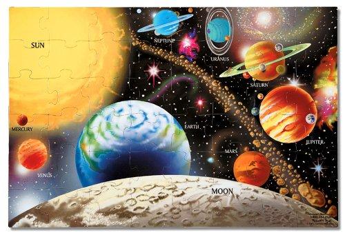 9780012516386: Puzzle-Solar System (48 Pc)