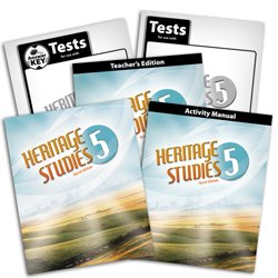 9780012516621: Heritage Studies 5 Subject Kit--Text and Teacher with CD, Activity Manual, Tests and Keys