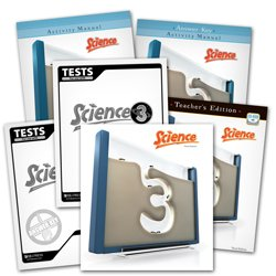 9780012517369: BJU Science 3 Subject Kit--Worktext, Teacher with CD, Activities Manual with Key, Tests, and Test Keys
