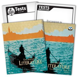 9780012517604: BJU Excursions in Literature Subject Kit--Student, Teacher, Test, Key