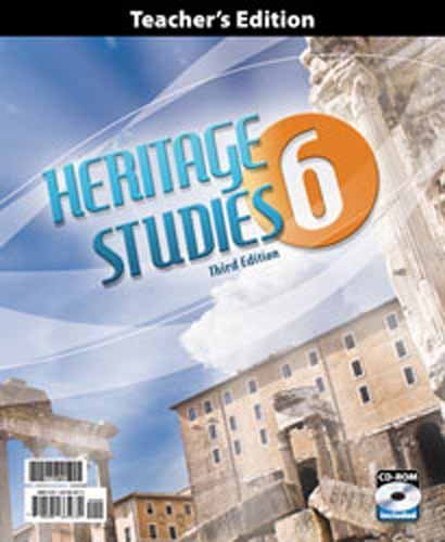 9780012628799: BJU Press Heritage Studies 6 Subject Kit