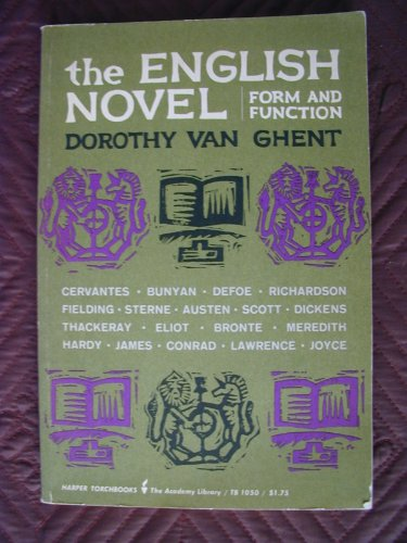 9780013165323: The English Novel Form and Function