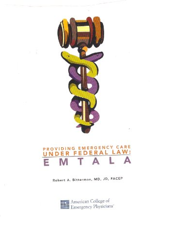 9780013276005: Providing Emergency Care Under Federal Law: EMTALA