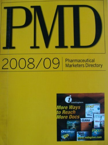 9780013373070: Pharmacuetical Marketers Directory 2008-2009 Pmd (Pharmaceutical Marketers Directory)