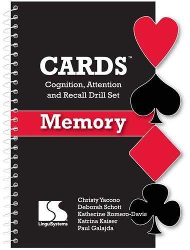 9780013761020: Cards: Cognition, Attention and Recall Drill Set: Memory