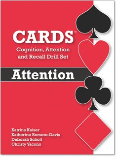 9780013761037: Cards: Cognition, Attention and Recall Drill Set: Attention