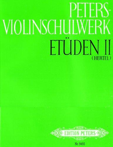 9780014077014: Peters-Violinschulwerk: Et�den, Band 2