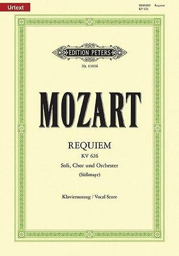 9780014107865: Requiem d-Moll KV 626 / SmWV 105 / URTEXT: Vervollst�ndigung S��mayr, Neuausgabe nach den Quellen / Klavierauszug