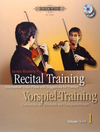 9780014110025: Recital Training Vol. 1 with 2 CDs / Vorspieltraining Band 2 mit 2 CDs: Violinst�cke der Mittelstufe mit �bungsanleitungen. Mit einem Vorwort von Shinichi Suzuki
