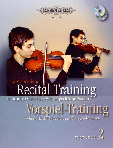 9780014111459: Recital Training Vol. 2 with 2 CDs / Vorspieltraining Band 2 mit 2 CDs