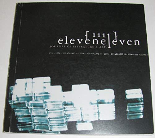 9780015482435: Eleven Eleven: CCA Literary Arts Journal Volume 1, Spring 2004 (Eleven Eleven, 1)