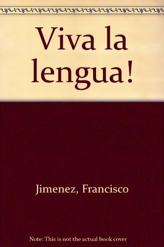 9780015594930: Viva la lengua! (Spanish Edition)