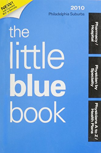9780016461743: Little Blue Book Philadelphia Suburbs 2010-2011