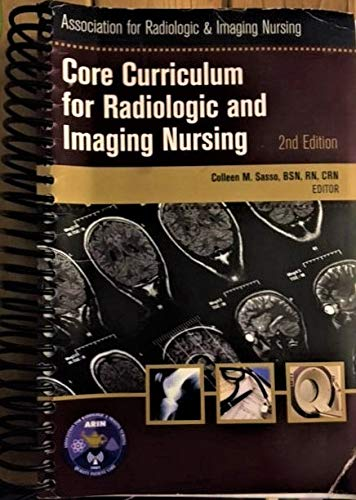 9780017318015: Core Curriculum for Radiologic and Imaging Nursing