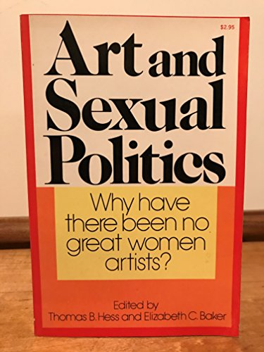 9780020039402: Art and Sexual Politics (Art news series)