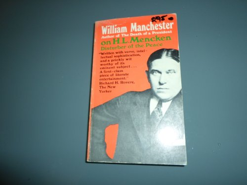 9780020048305: H.L. Mencken: Disturber of the Peace
