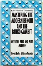 9780020080916: Mastering the Modern Benoni and the Benko Gambit with the Read and Play Method (The Macmillan Chess Library)