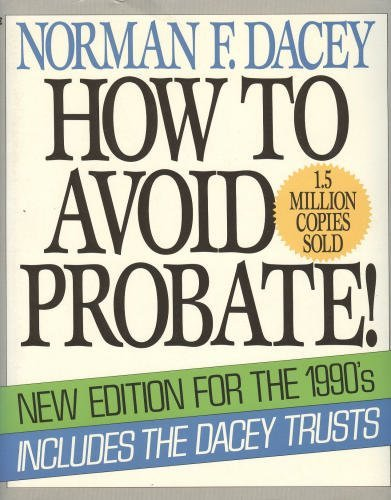 9780020081814: How to avoid probate!