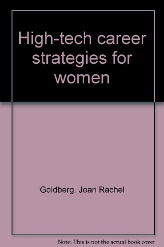 9780020082804: High-tech career strategies for women