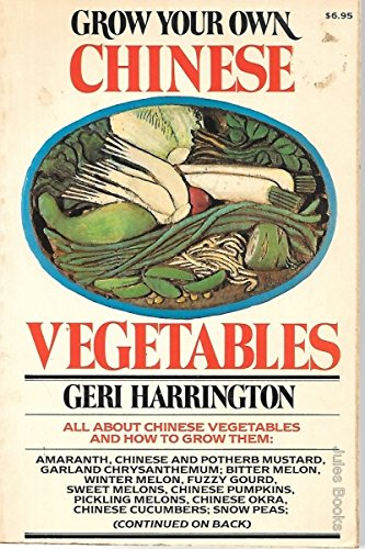9780020097006: Grow Your Own Chinese Vegetables