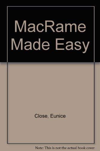 9780020111702: MacRame Made Easy