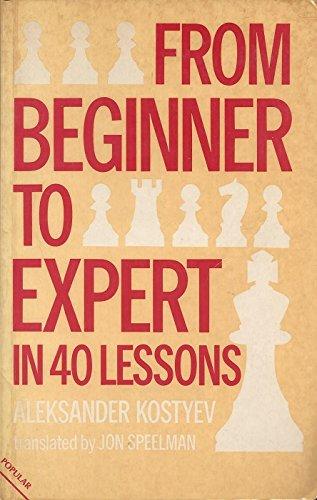 From Beginner to Expert in 40 Lessons: Aleksander Kostyev