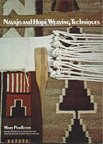 9780020118503: Navajo and Hopi Weaving Techniques